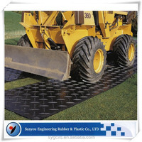HDPE ground protection mat road mat temporary access amts