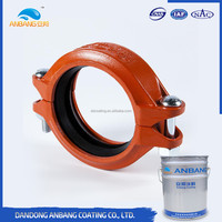 ABW666 solvent and water resistance anti rust water based inorganic zinc rich industrial paint
