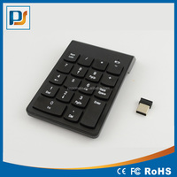 2.4G Bluetooth Wireless Mini Digital Keyboard 19Keys ABS Material