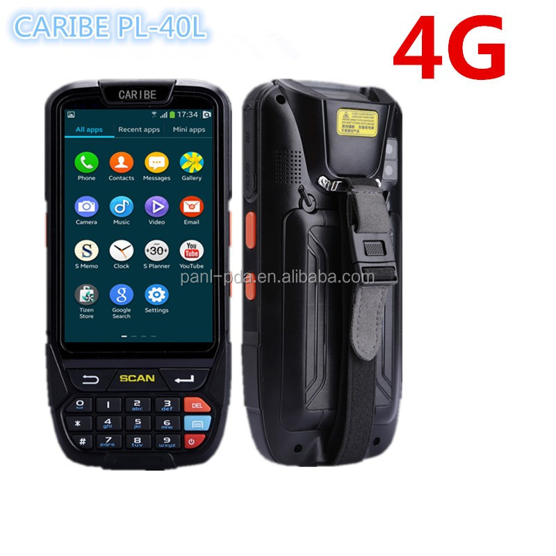 CARIBE PL-40L AB079 2G+16GB duad core NFC 4.0 inch mini handheld gps navigation 4G camera GPS WIFI Bluetooth Barcode Scanner