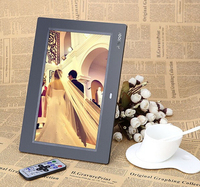 10 inch Digital Photo Frame With MP3 Video Playback Remote Control For Shop Advertising Display