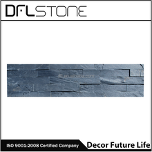 Black Slate Mushroom Stone natural surface Wall Cladding floor covering,Natural decorative stone