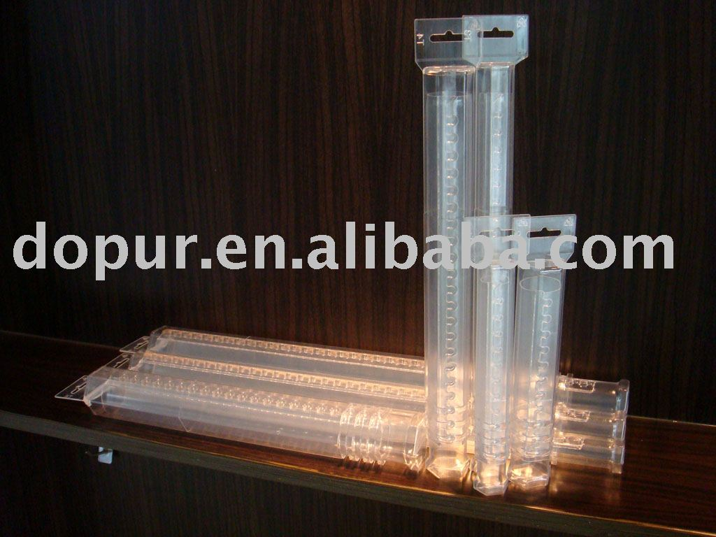 PVC transparent hexagon plastic tube