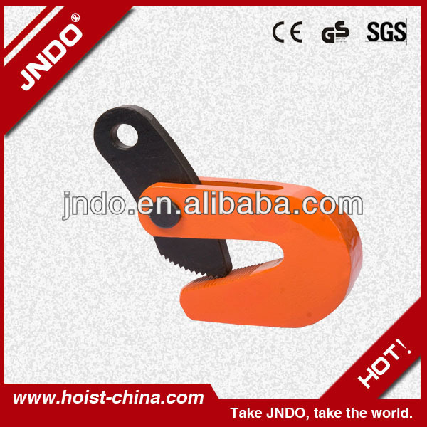PDB 1.6T horizontal clamp/crane clamp/lifting steel clamp