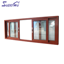 Double Glazed Aluminium Alloy Frame Sliding Aluminum Window With Australian Standards AS2208