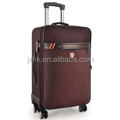 Four dual caster spinner wheels urban trolley luggage