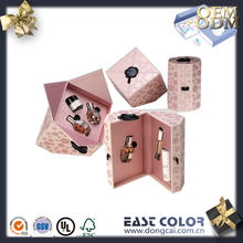 luxury cosmetic gift box with internal tray