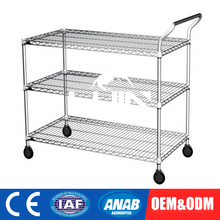 Adjustable Customize Treatment Stair Decorative Trolley Cart