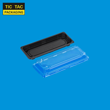 disposable plastic sushi container for take away