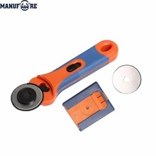 plastic handle SK5 blade 45mm fabric rotary cutter knife with blade box