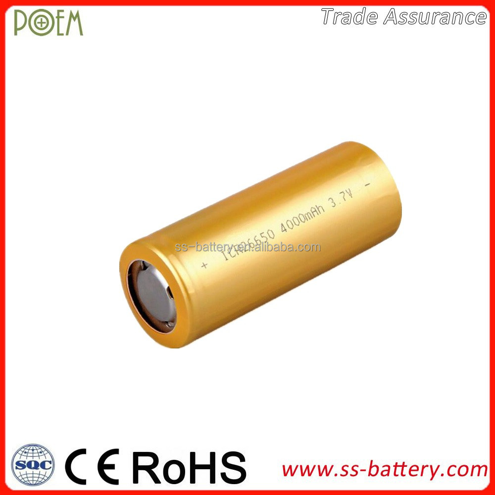 LiCoO2 3.7V 4000mAh cylindrical lithium ion battery operated wall sconces