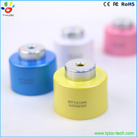 Portable bottle cap mini humidifier