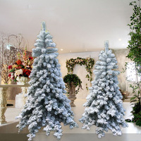 Christmas Tree Decoration Frosted Chrismas Trees