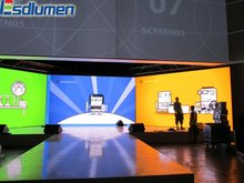 2012 New inventions P3.75 high quality Mini indoor fullcolor led wall price for rental and advertising