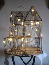 Hot sale daisy flower warm white LED string lights sweet decorative solar string lights indoor