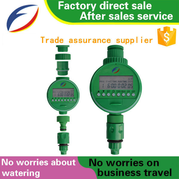 Smart electronic automatic water sprinkler timer for home and garden farm irrigation equipment/irrigation controller
