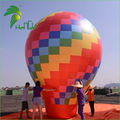 6m Large Rainbow Color Inflatable Ground Balloon , Advertising Inflatables Cold Air Balloon For Sale