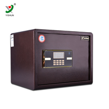 Outstanding mechanical mini hotel safe box/money counting safe/drop safe box