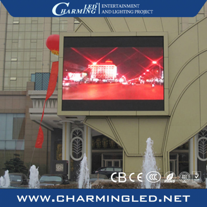 outdoor P10 led banner display module