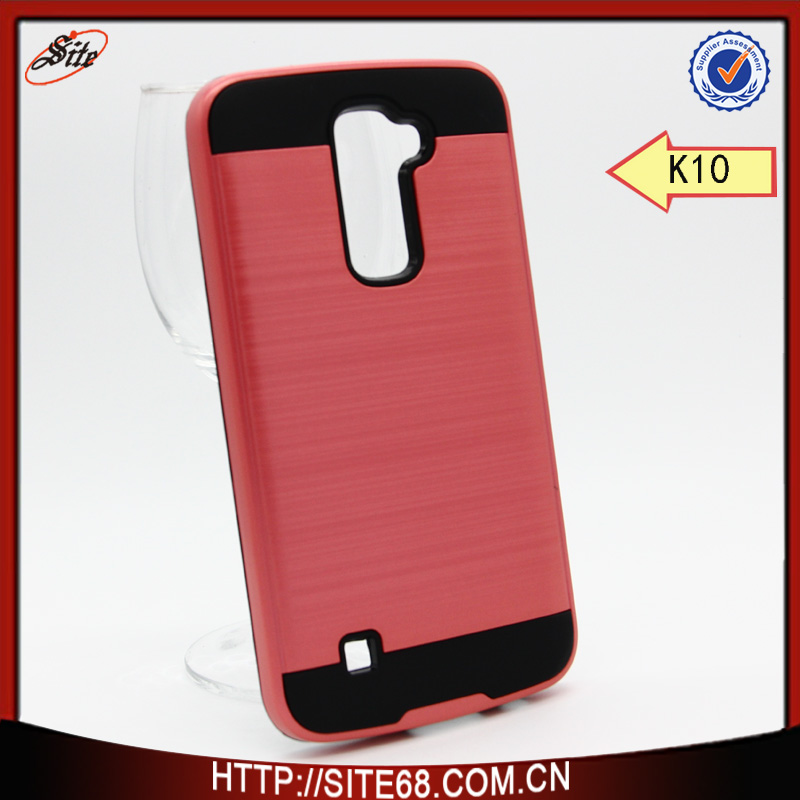 Wholesale Manufacturer Supply Dual-protect Cover for LG <strong>K10</strong>, Shockproof Mobile Phone Case For <strong>K10</strong>