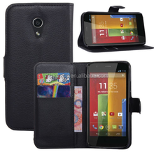 Magnetic Flip Cover Stand Wallet PU Leather Case Skin For Motorola Moto X G E
