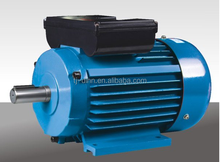 hot sale of YL electric motor 0.25 kw single-phase tow-value induction motors