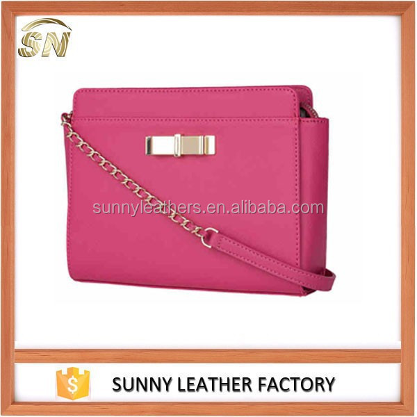 Genuine Leather Cross Body Bag For Girls