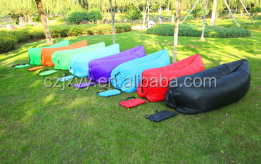 Air Sofa Lounge Lay Bed Inflatable Sleeping Bag 13 Colours