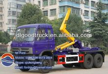 6x4 16cbm swing arm garbage collection truck 0086-13635733504