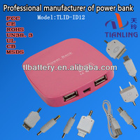 Astonishing Looking!!! 2013 New Arrival 5000mah Power Bank