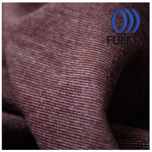 Polyester rayon spandex knitted stretch roma fabric for garment