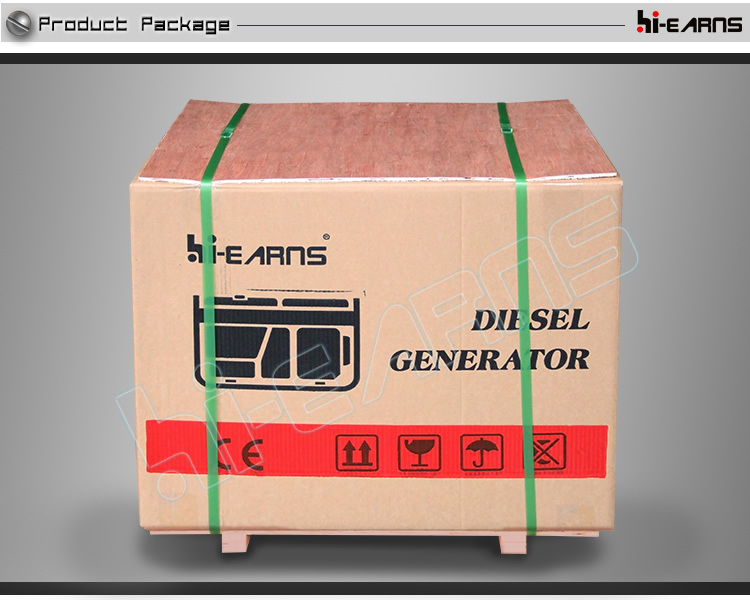 DG6500SE-5kw silent home use portable air cooled diesel generator