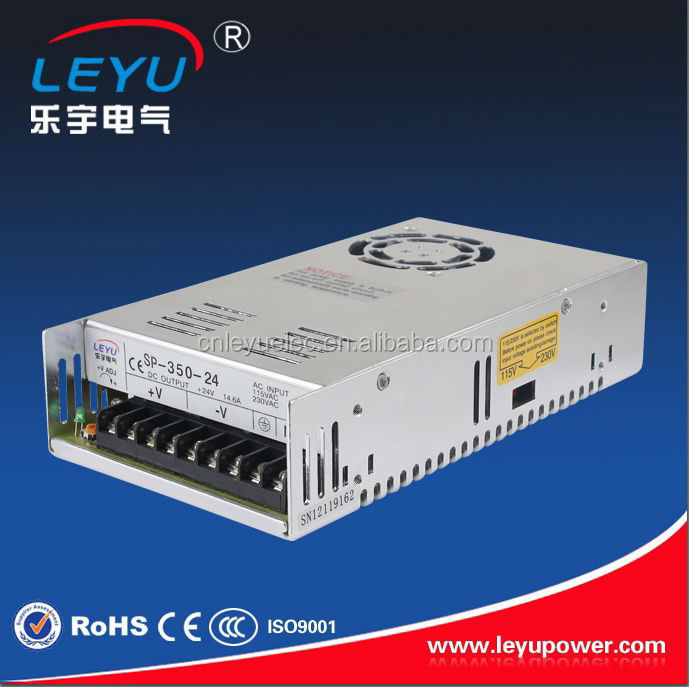 SP-320-24 with PFC function 320w 220vac 24vdc switching power supply