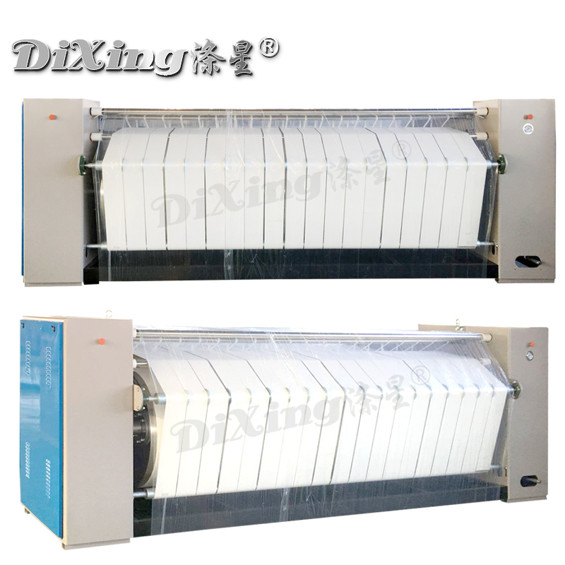 High Quality Steam 2500mm 2800mm 3000mm single-roller flatwork ironer machine for laundry shop/house for sale Picture