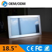 "18.5""Industrial Panel PC with D525/ 4 USB ports/ Resistive Touch panel"