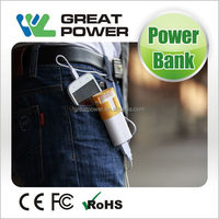 Design stylish led emergency torch and power bank