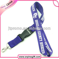 custom various style high quality lanyard lobster clasp