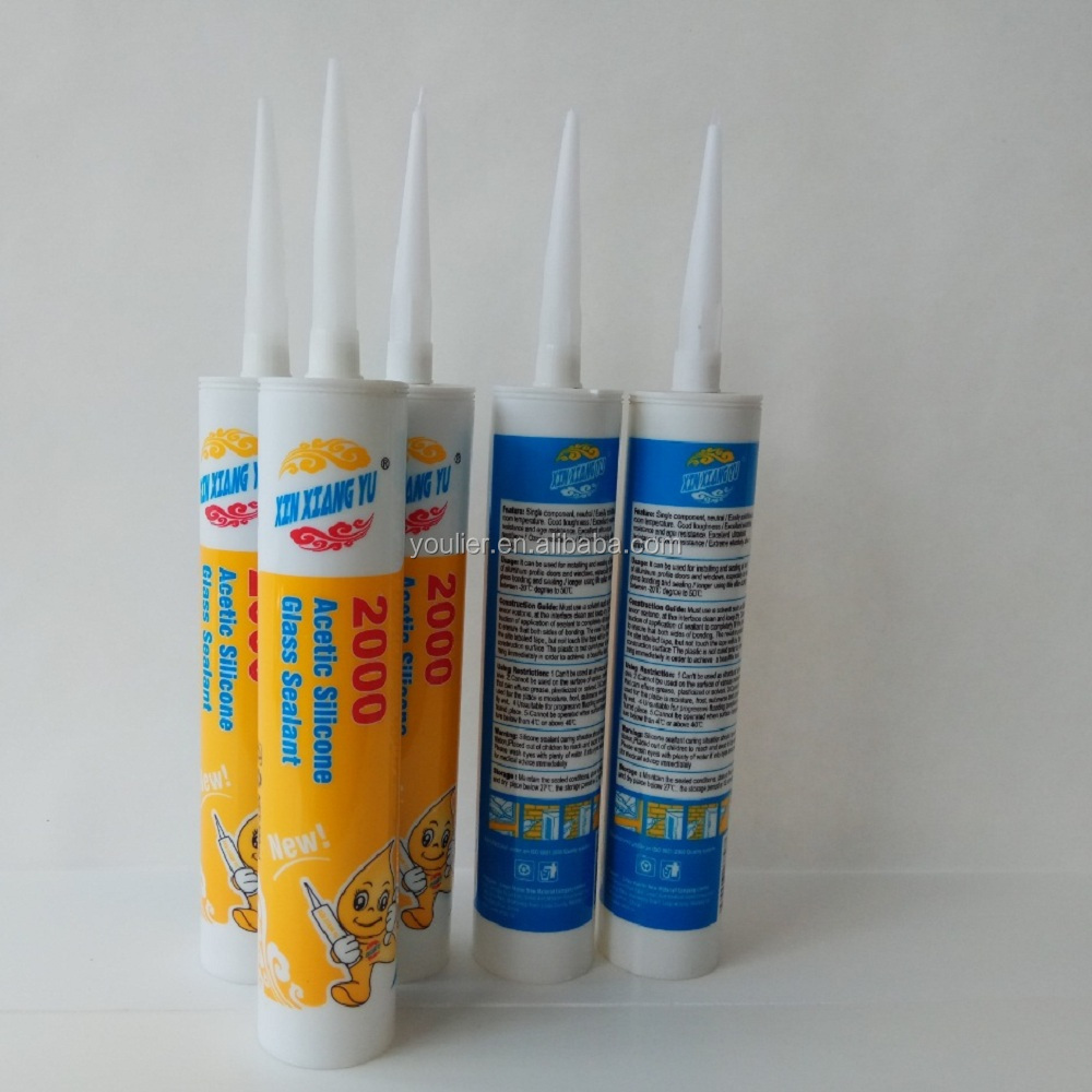 GP rtv structural glass acetic silicone sealant adhesive silicone