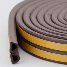 self adhesive rubber door seal gasket with D shape