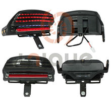 Smoke Led integrated motorcycle tail light ,Original equipment on 2007-2008 for Harley Davidson FXSTSSE models