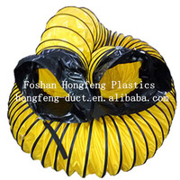 Professional Marine axial flow fan accessories products - PVC spiral ventilation hose expansion