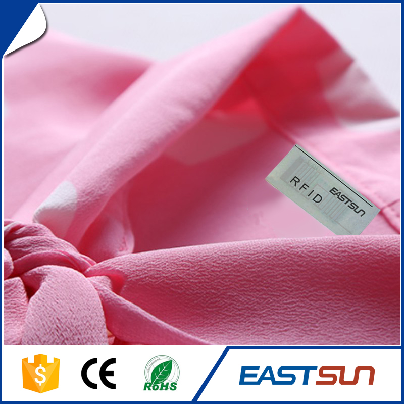 Custom hang passive clothing rfid tag