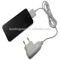 UK Plug AC Travel Wall Charger for iPhone 4S 4 3GS iPod