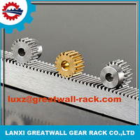 Customized m3 flexible gear rack rail and wheel for sliding door with sliding door gate