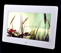 10 inch advertising player digital photo frame with remote control sopport motion ssensor (for customer choice)