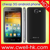 H-Mobile A5 WCDMA 3G Lowest Price China Android Phone 4.0 Inch Dual SIM Card WiFi GPS mobile android phone