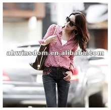2012 Corea fashion cotton cell relaxation joker shirt