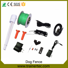 2017 Rechargeable Waterproof Wireless Pet Dog Temporary Electric Underground invisible dog fence