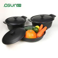 New fashion enamel cast iron pot, enamel pot set and cookware pot set