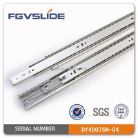 soft closing mechanism ball bearing slide rail